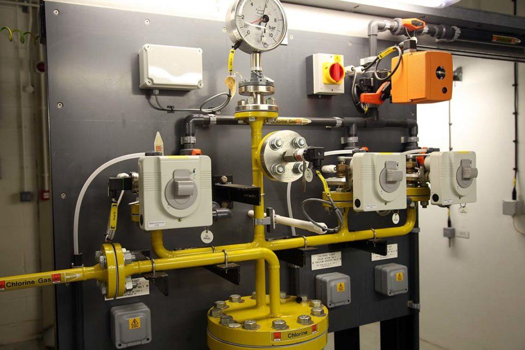 Chlorine system monitoring