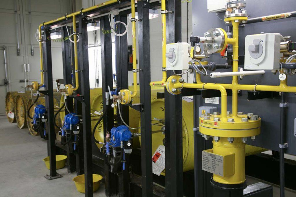 Chlorine Gas Drumstore - Large Drums - 1000 kg