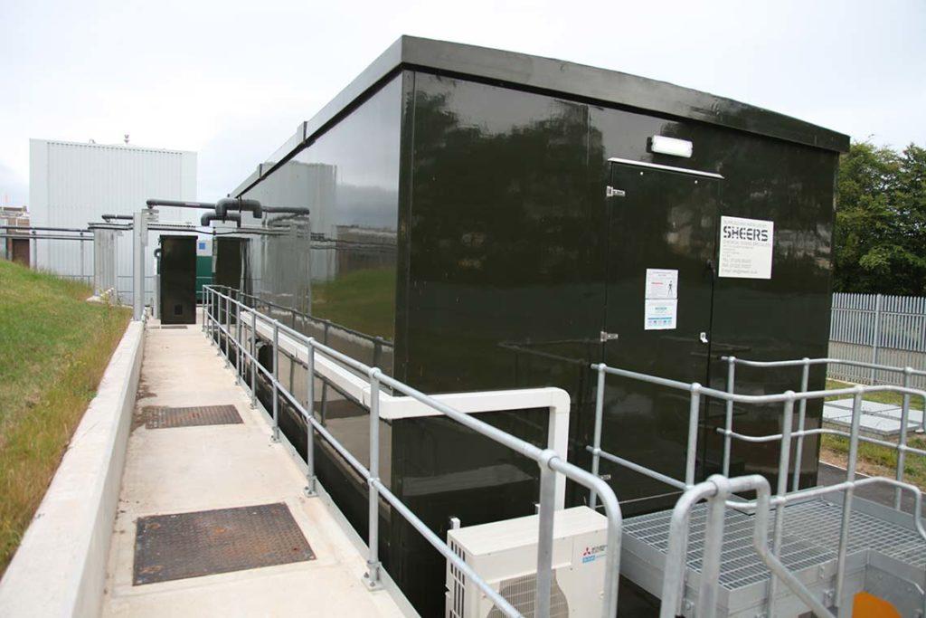 Chemical Dosing Kiosk - Offsite build